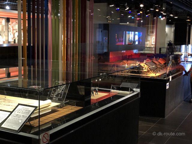 江戸時代の火消しの資料展示(消防博物館5F)
