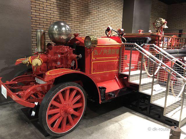 アーレンス・フォックス消防ポンプ自動車(消防博物館B1F展示)
