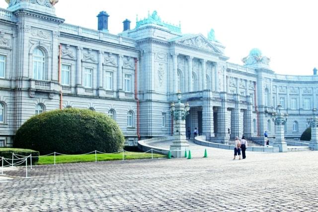 迎賓館赤坂離宮の本館イメージ