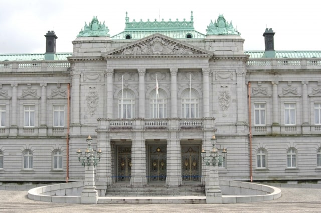 日本で唯一のネオ・バロック様式による宮殿(迎賓館赤坂離宮の本館)