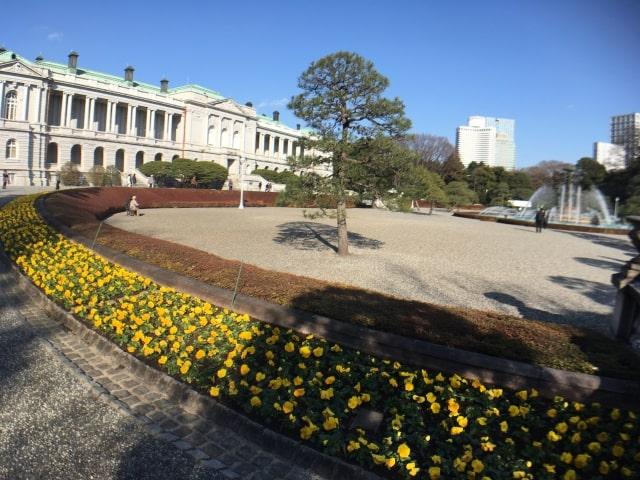 迎賓館赤坂離宮の主庭・花壇